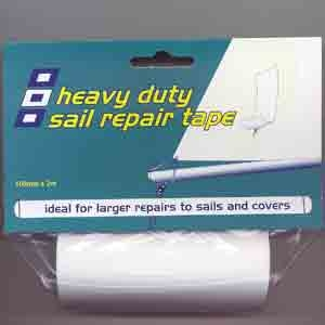 HEAVY DUTY Sail Repair-Tape 100mm x 2m WEISS