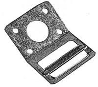 Gurtplatte fester Steg für 50mm