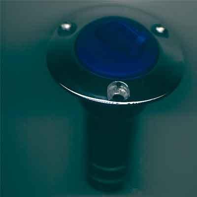 Tankeinfüllstutzen WASSER 1 1/2 60mm Blau