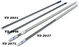 Aluminiumstiel für Vlieshalter/Bürsten von Vikan