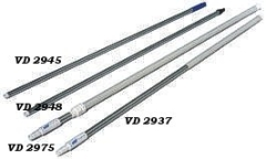 Aluminiumstiel für Igelbürste VD5400 1350mm