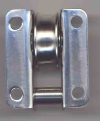 Einlassblock 8mm mit Stahlrolle kugelgelagert Sonderanf