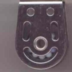 Liegeblock Kugellager 8 mm - Hohlachse