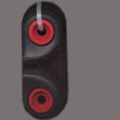 Camlan® Schotklemme Gleitlager 3-6 mm