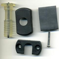Gummigelenk demontierbar - ø 16 mm