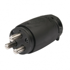 Einbaukuppllung Stecker 12-48V 70A